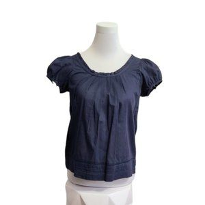 American Eagle Navy Blue Top, Size 0